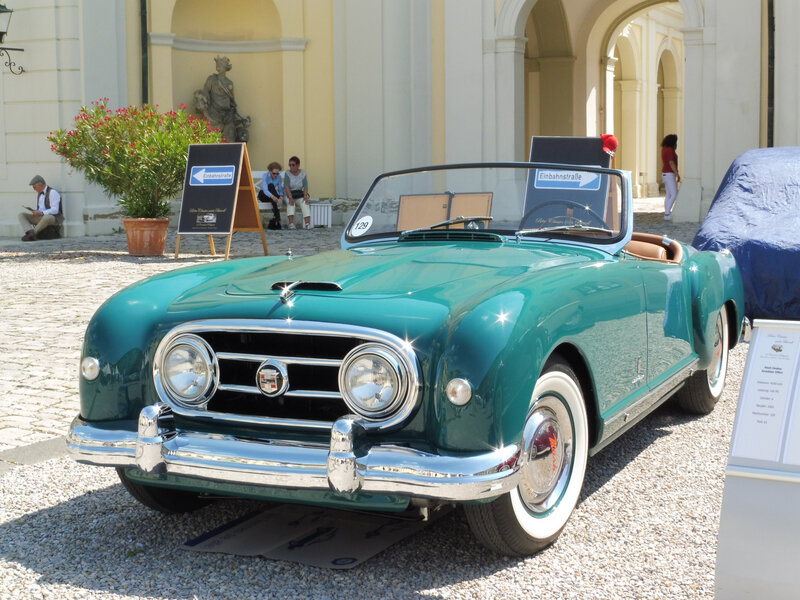 NASH Healey roadster Pininfarina 1952 Ludwigsburg (1)