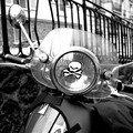 A Paris en moto...