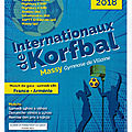 Internationaux de korfbal à massy