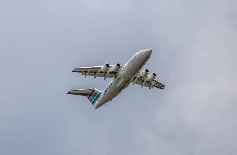 Avro RJ85 de Braathens Regional