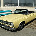Plymouth belvedere ii convertible - 1965