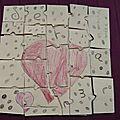 Puzzle d'amour de mon coeur