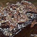 Cake au chocolat de stéphane glacier