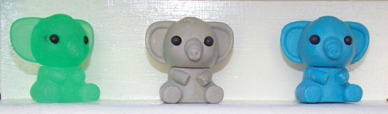éléphants GOMU
