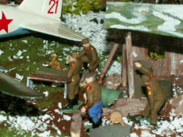 AVION SOVIET BOMBER SU 2 finie le 210317 (13)