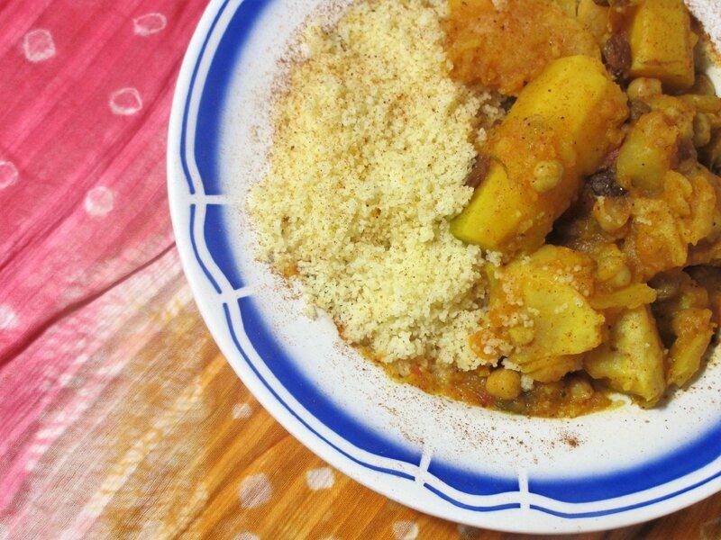 Couscous aux légumes d'hiver végétarien Kmillesaveurs1