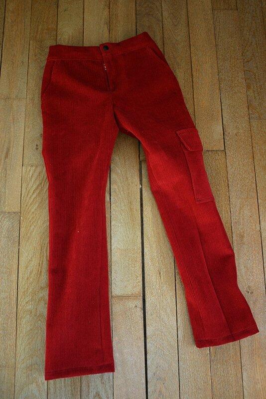 pantalon rouge1