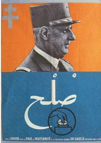 Affiche autodétermination 1961