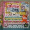 Album kawaii street a4
