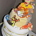 0502 Gâteau de couches Tigrou 1