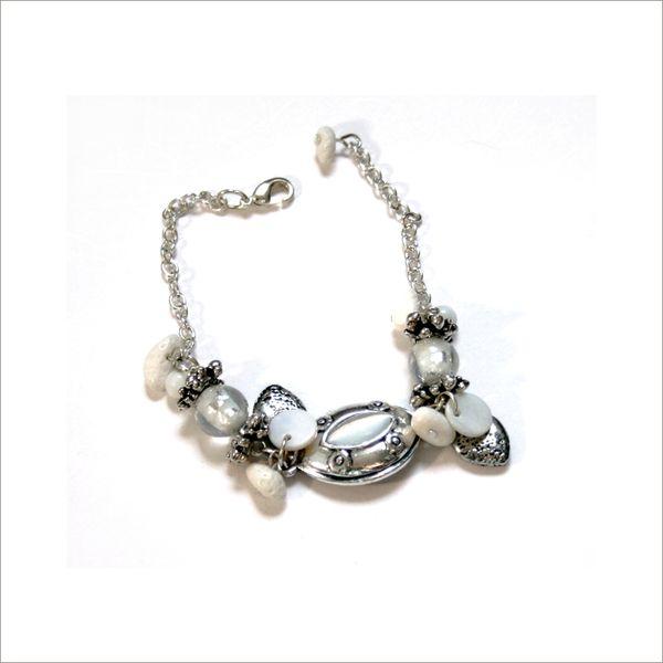 Bracelet Froufrou blanc