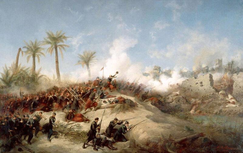 prise de la Zaatcha, 26 nov 1849