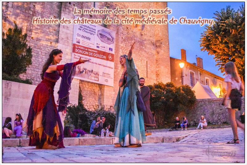 La mémoire des temps passés - Histoire des châteaux de la cité médiévale de Chauvigny (1)