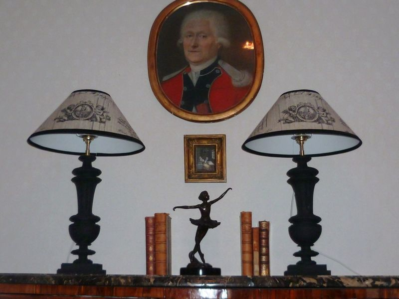 paire lampes balustres