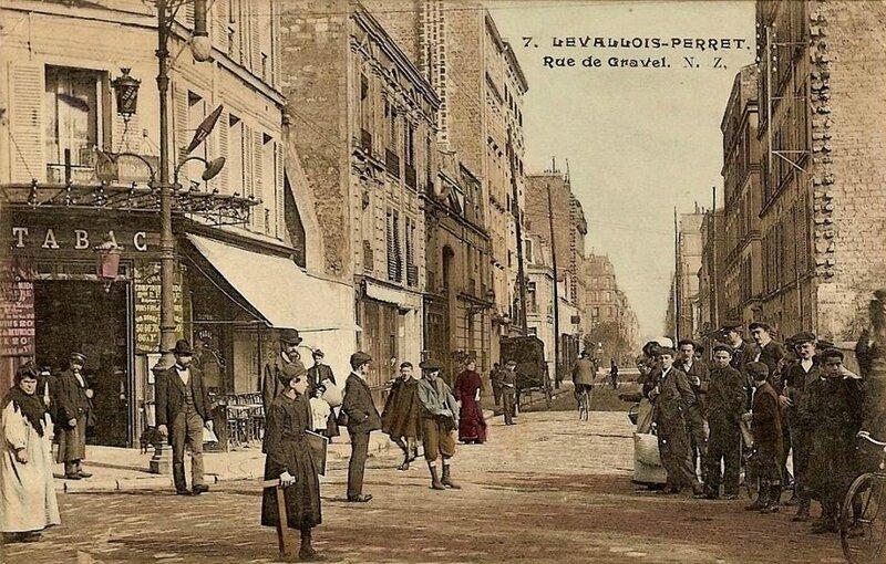 rue gravet àl Levallois-Perret