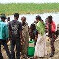 122 - Awassa : Le marché aux poissons