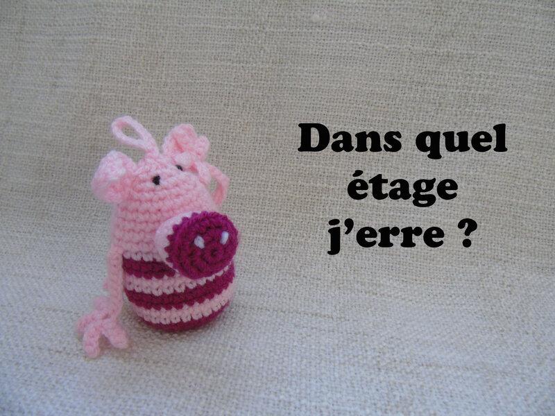 ronchonchon-cochon au crochet