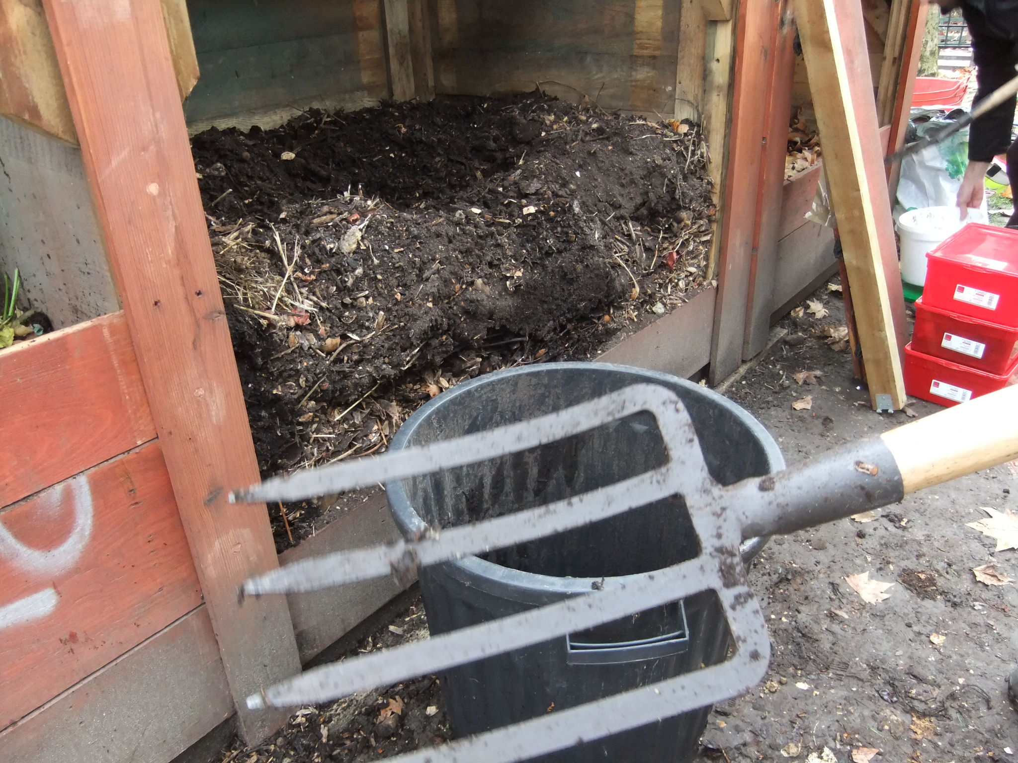 s) Compost mûr