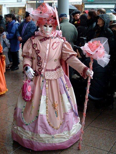 Carnaval Vénitien d'Annecy organisé par ARIA Association Rencontres Italie-Annecy (73)