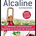 La méthode alcaline - stephan domenig - editions flammarion