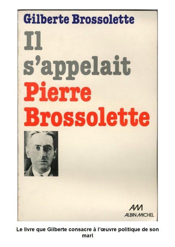 Hommage Gilberte BROSSOLETTE - Page 3