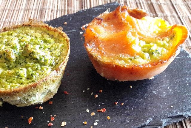 peis flans de brocolis au saumon fumé (2)
