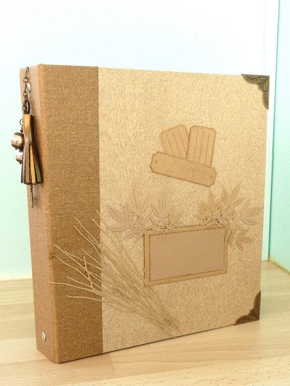 Classeur maison pour cartes - Home made binder for cards
