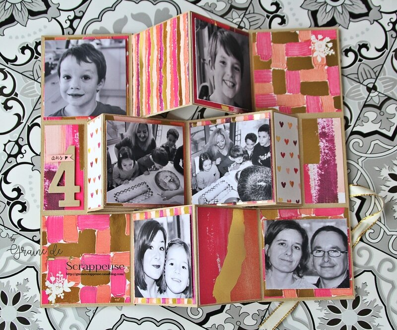 Album by Graine de Scrappeuse Stampin'up