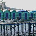 Cabines de plage à Sorrente