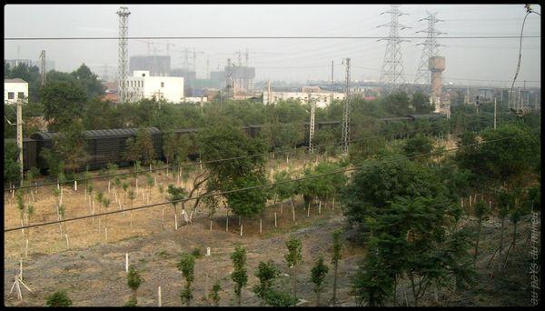 voies de chemin de fer de Chine grande vitesse et petite vitesse 03