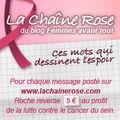 Soutenons la lutte contre le cancer du sein