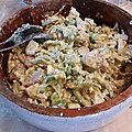 Salade de fenouil et feta, vinaigrette au sumac
