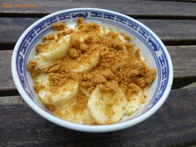 Verrine de fromage blanc à la banane et au spéculos (1)