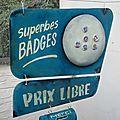 Support-badges à suspendre