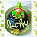 Ballade irlandaise 3 - la st patrick et son gateau leprechaun