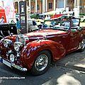 Triumph 2000 roadster de 1948 (34ème Internationales Oldtimer meeting de Baden-Baden) 01
