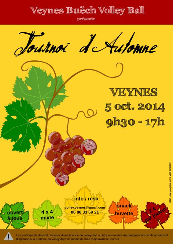 affiche tournoi automne 2014