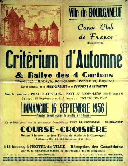Affiche Bourganeuf 1956 web