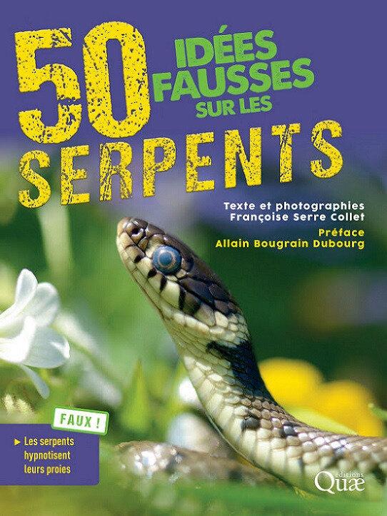 50 IDEES FAUSSES SUR LES SERPENTS COUVERTURE