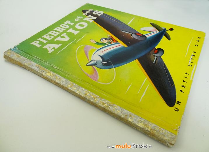 Livre-PIERROT-ET-SES-AVIONS-2-muluBrok-Vintage