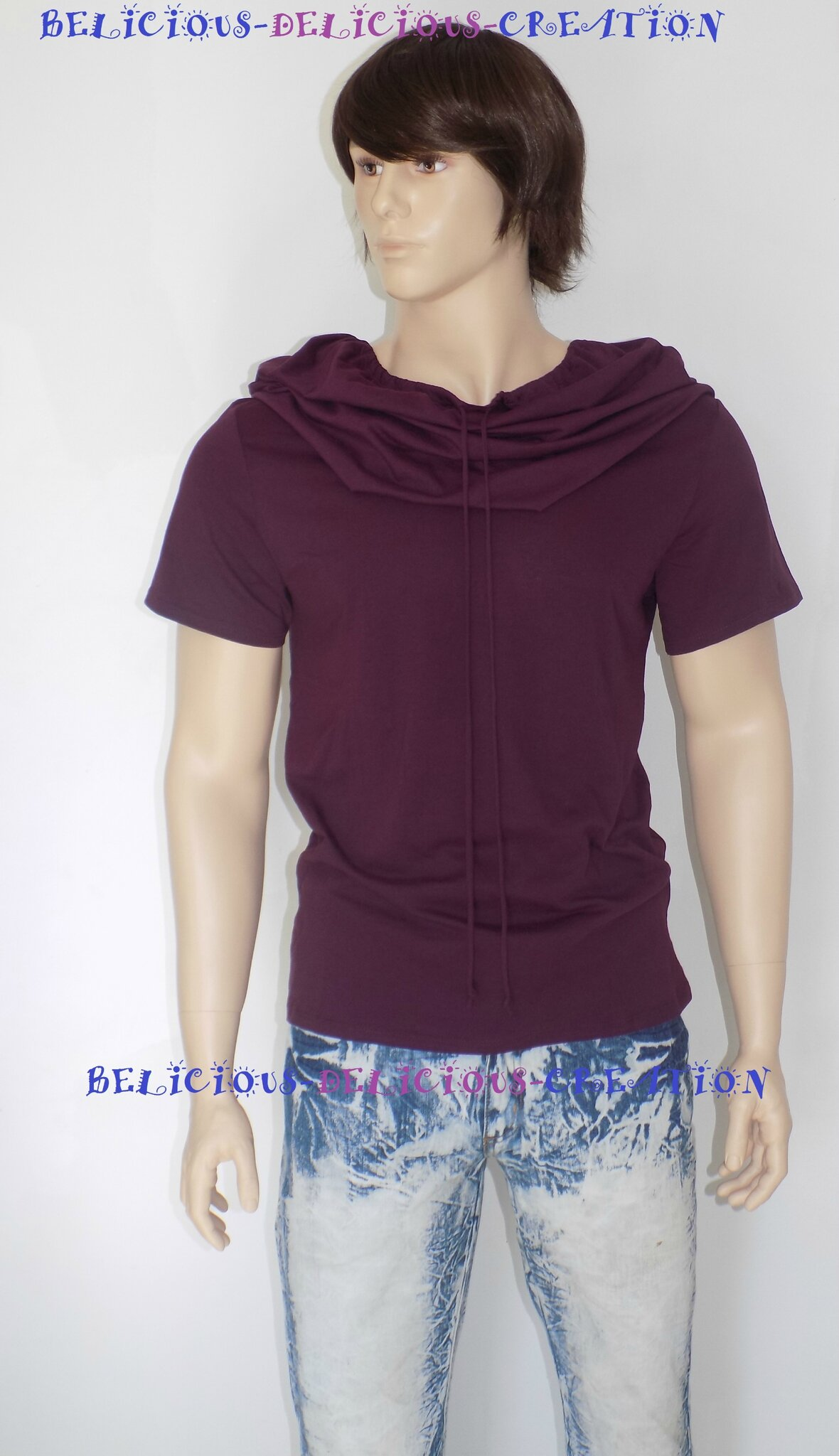 hoody purple for men