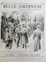 Publicité La Belle Jardinière, L'illustration 15 janvier 1916