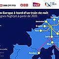 Un accord à 4 réseaux pour de nouveaux nightjet