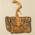 Purse with boys playing, liao dynasty (907–1125), 10th–11th century