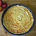 Un tour en cuisine 180: tarte aux pommes et amandes