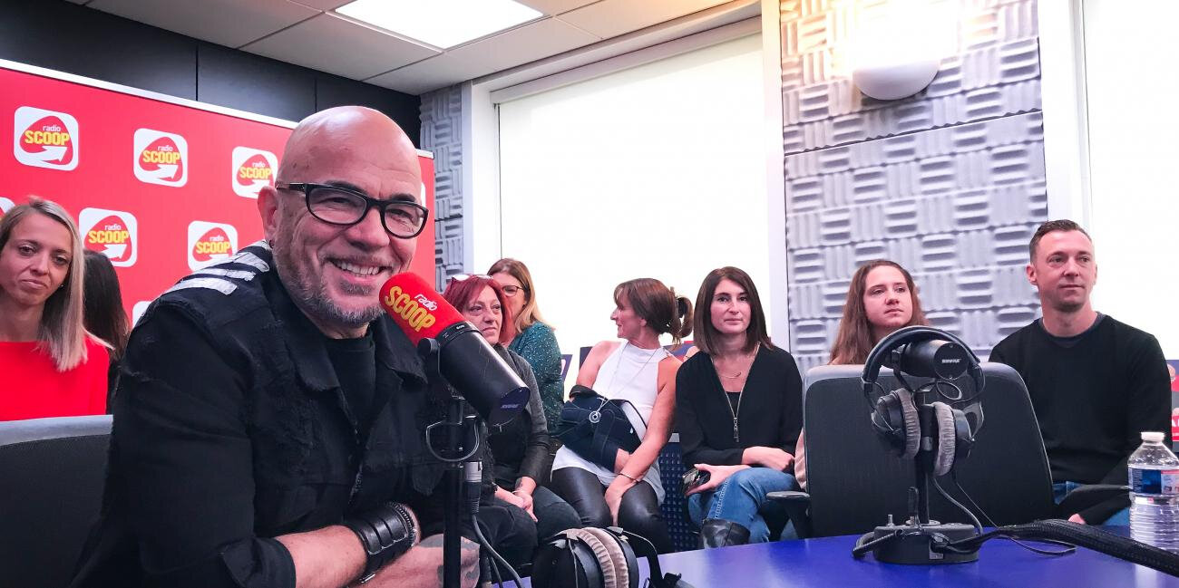 Pascal Obispo en All Access sur Radio Scoop Lyon