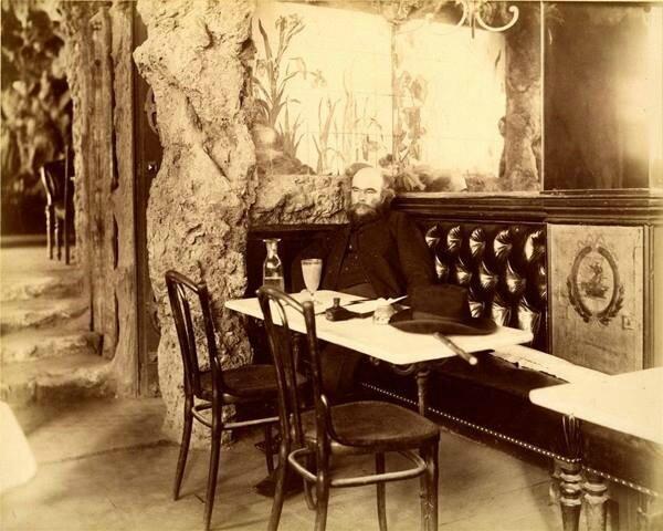 Paul Verlaine - café Francois 1er - 28 mai 1892