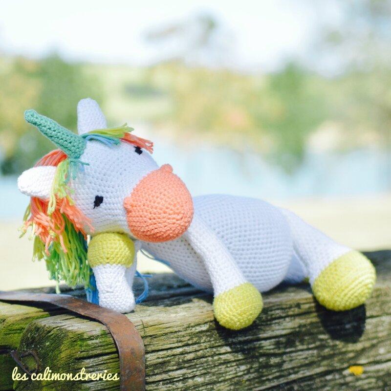 Licorne crochet 4