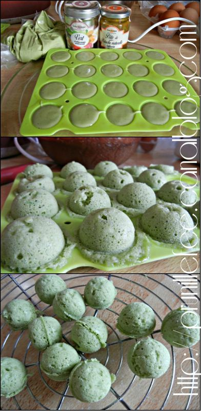 collage cake pops micro-onde