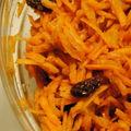 Salade de carottes-cumin-raisins
